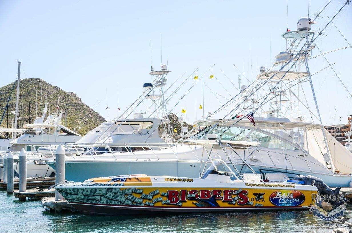baja cantina boat in cabo