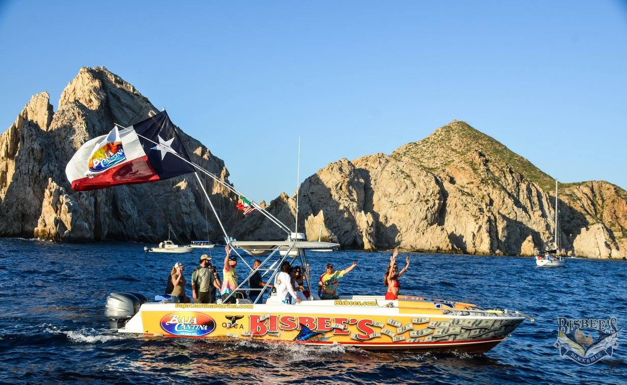 boating in the waters of Cabo