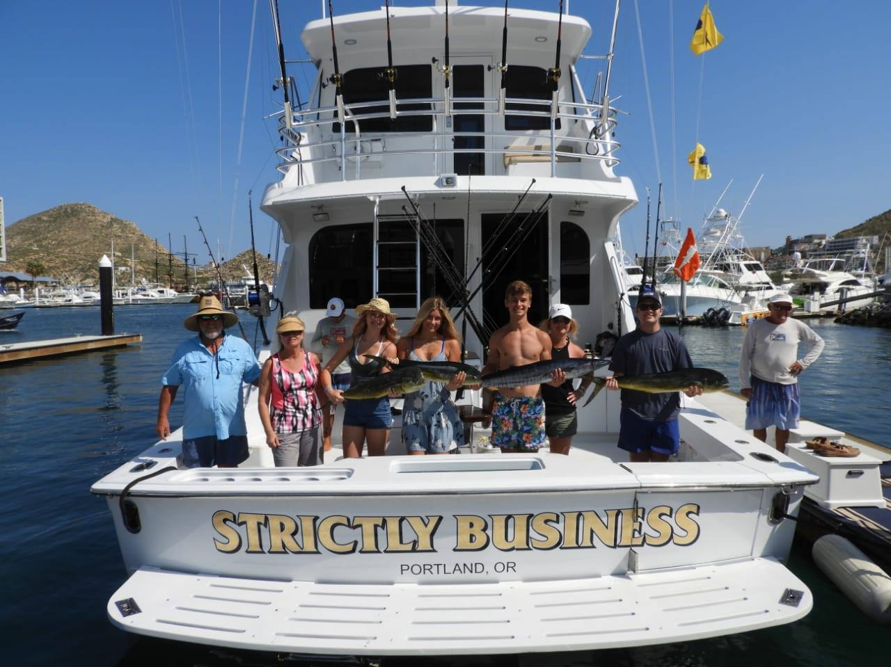 strictly business boat from Portland Oregon