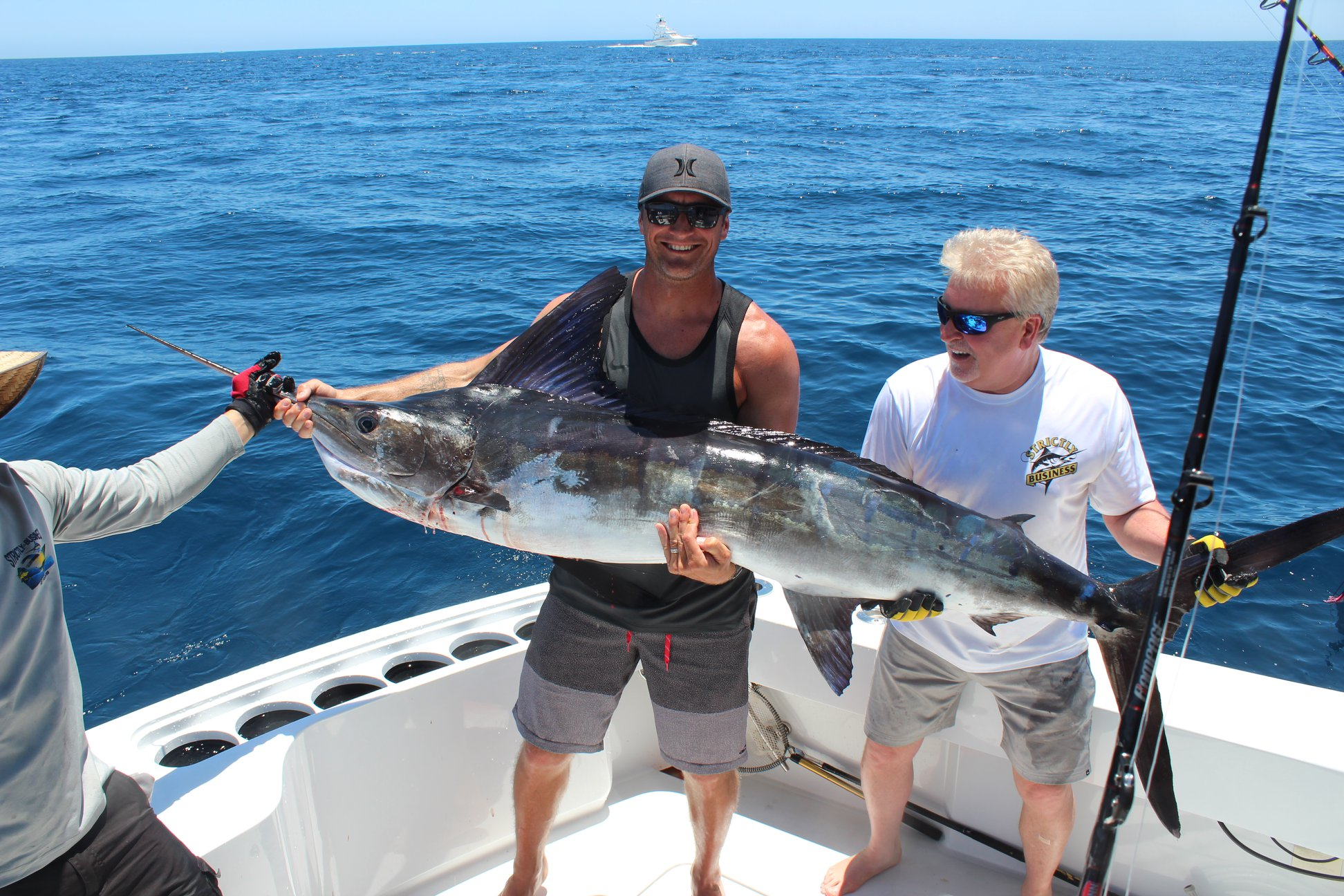 catching sword fish in Cabo