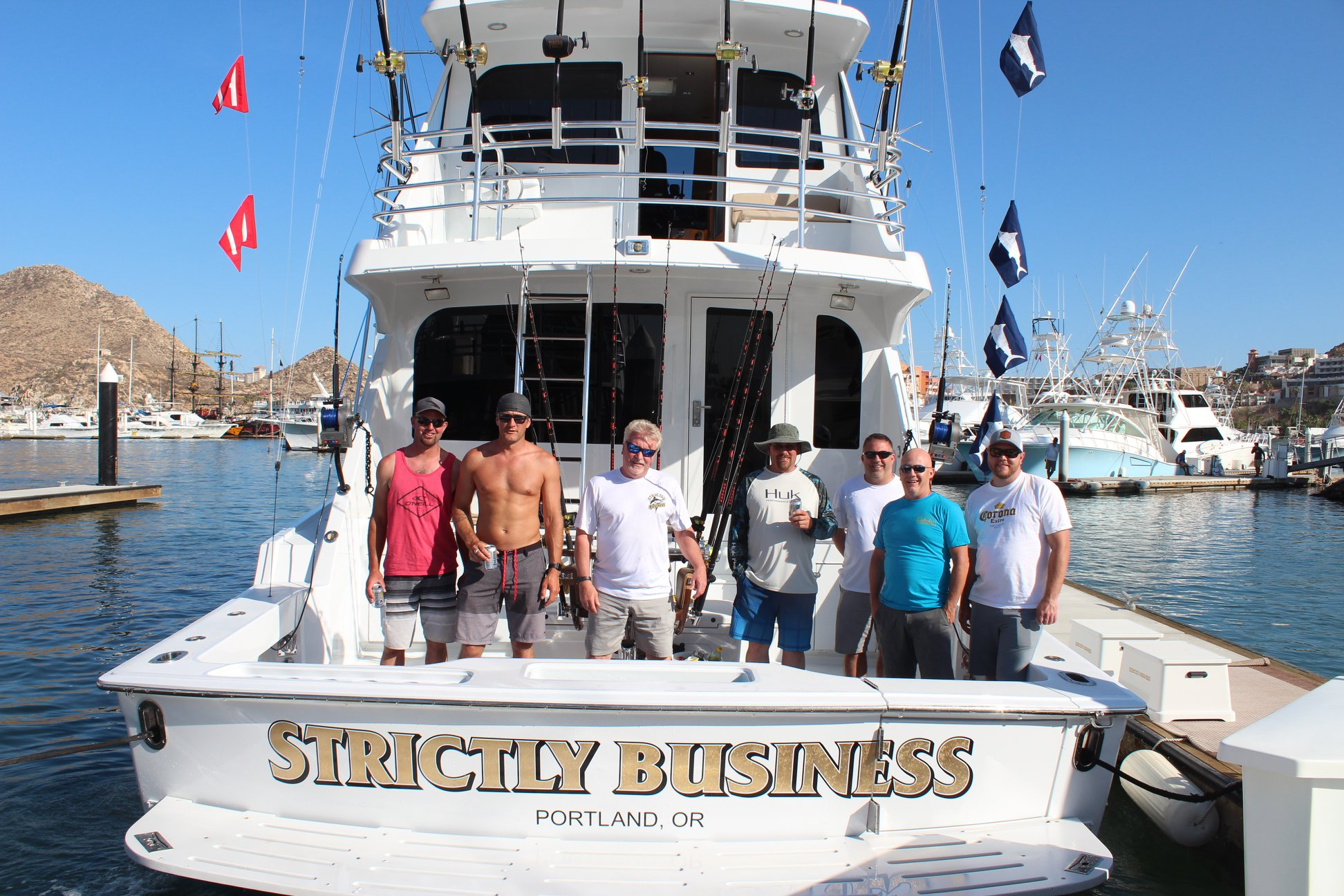 strictly business fishing crew