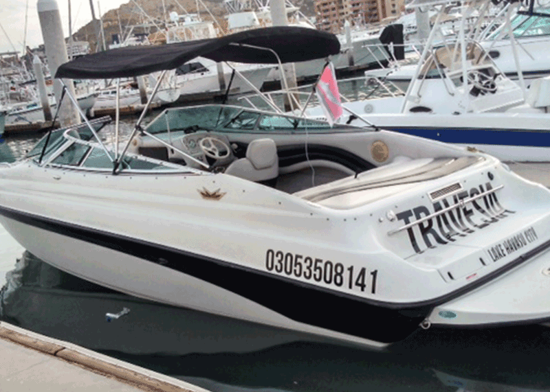 27 foot boat Travesia