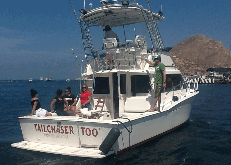 Tail Chaser Fishing boat