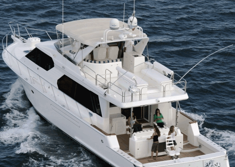 72 foot private fishing boat
