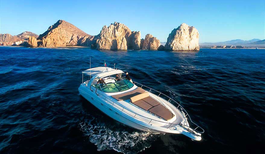 46ft boat rental near Cabo
