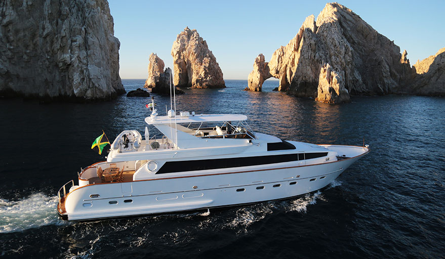 private yacht rental Cabo