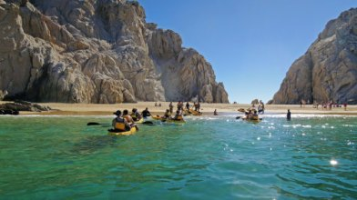kayak fishing in Cabo