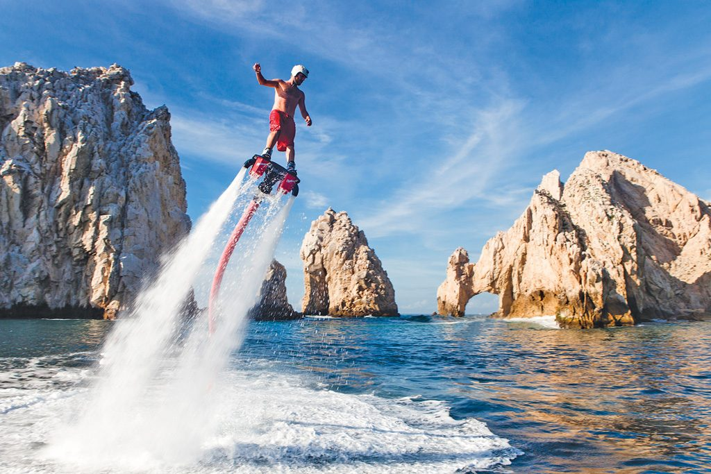 flying board charters Cabo
