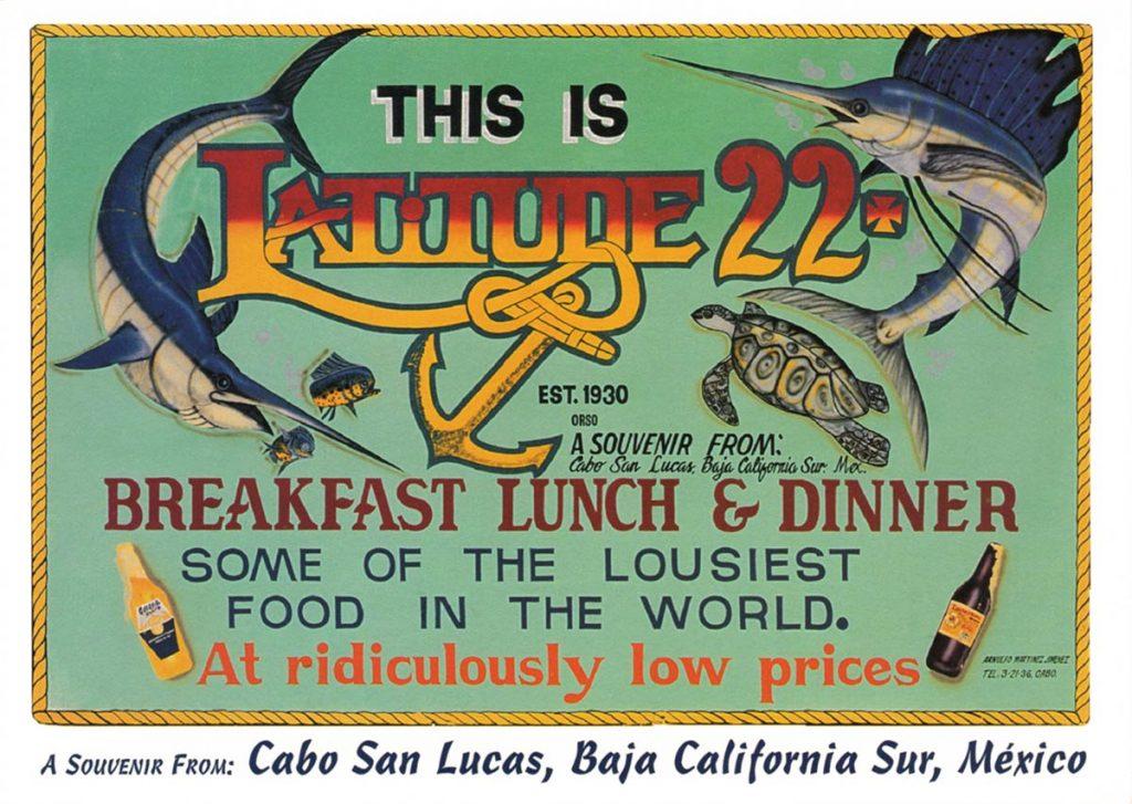 Latitude 22 eatery