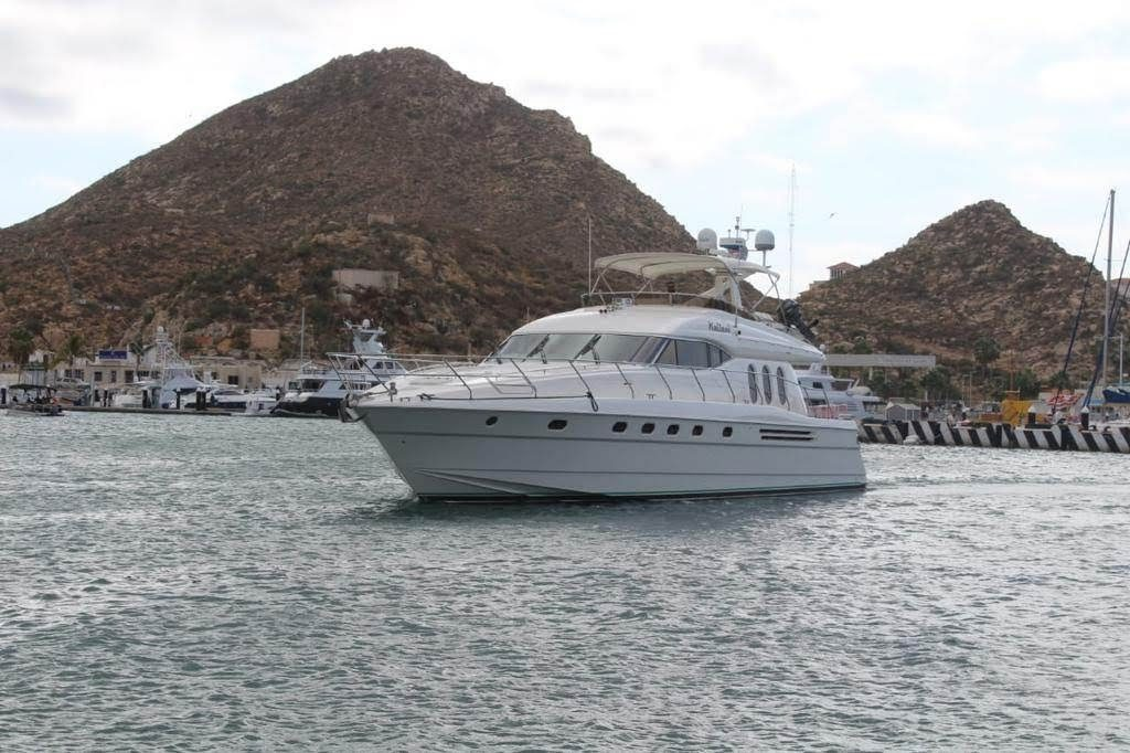 yacht navigating waters in Mexico