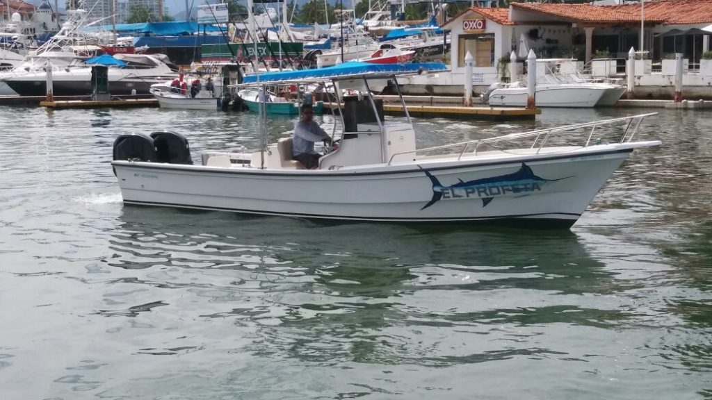 28 Foot fishing boat for chartered rental