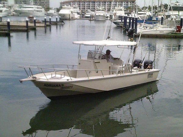 29 foot fishing boat rental in Cabo