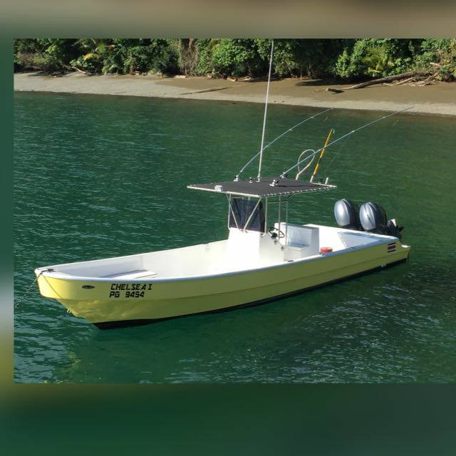 small fishing boat for rent in Cabo