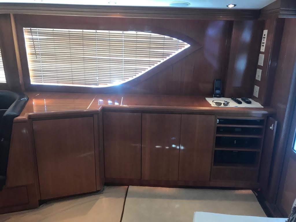 kitchen area on fishing boat